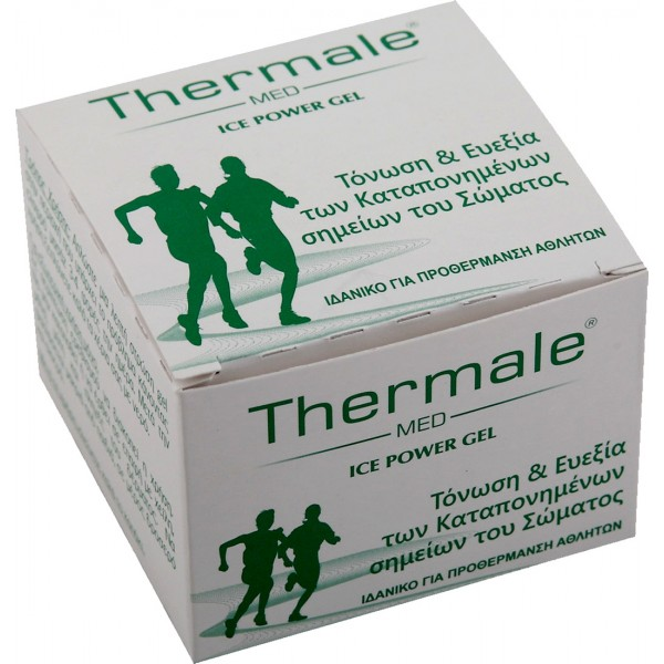 Thermale  Med Ice Power Gel Τζελ για τόνωση, ευεξία αλλά και για την προθέρμανση του σώματος 120ml