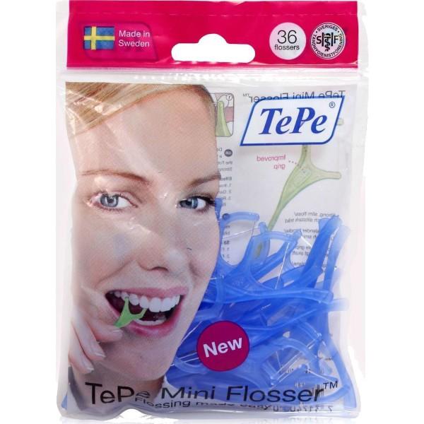 Tepe Mini Flosser Για Απαλό Και Αποτελεσματικό Καθαρισμό Ανάμεσα Στα Δόντια 36τμχ