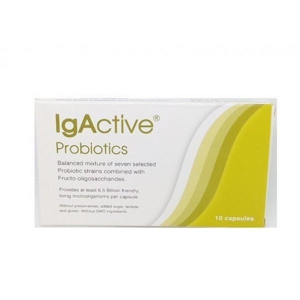 IgActive Probiotics  Συμπλήρωμα Προβιοτικών 10 κάψουλες