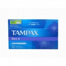 Tampax Lites tampons Ταμπόν μεσαίο μέγεθος με νέα μεγαλύτερη προστασία 12 τεμάχια