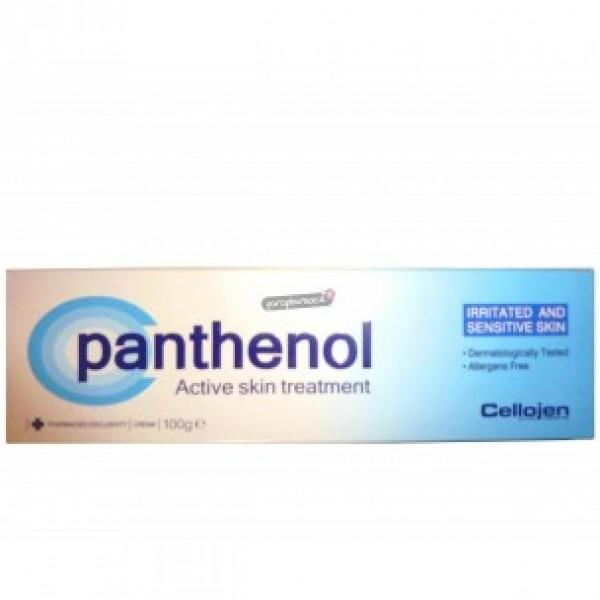 PANTHENOL ACTIVE SKINCARE CELLOJEN Κρέμα για την ενυδάτωση αλλά και για τους ερεθισμούς του δέρματος 100gr