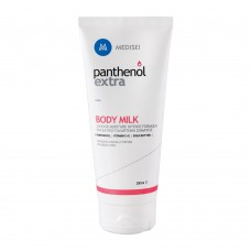 PANTHENOL EXTRA Body Milk 200ml γαλάκτωμα σώματος εμπλουτισμένο με πανθενόλη και βιταμίνες Α και Ε